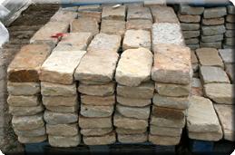 8'' wide Stone